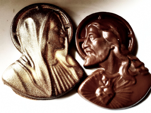 Jesus & Mary Chocolate Gift